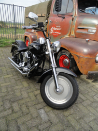 HARLEY DAVIDSON FATBOY LOOK SOFTAIL CUSTOM 1996 ( SOLD )