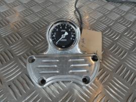 handle bar clamp incl tachometer billet alu