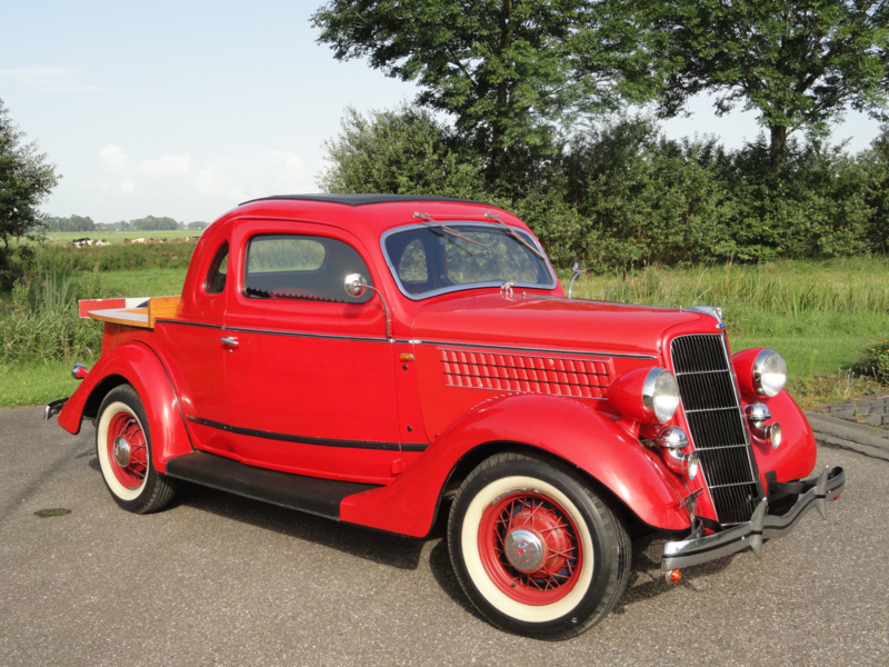 ford five window coupe ute 1935