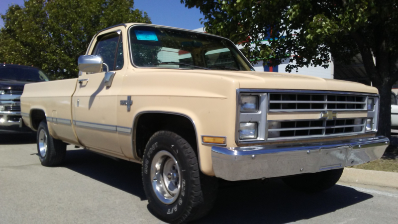 CHEVROLET PICKUP 1986 ( SOLD )