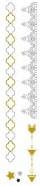 Flash Tattoo Metallic Shooting Star (85337)