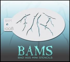 Bad Ass Stencil 1008