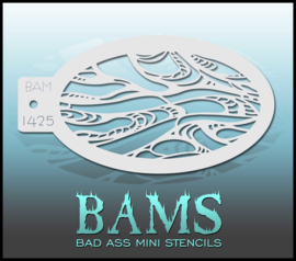 Bad Ass Stencil 1425