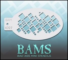 Bad Ass Stencil 1027