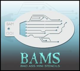 Bad Ass Stencil 1201