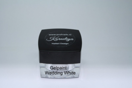 Nailart Gelpaint Wedding White 5 ml