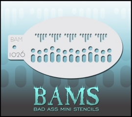 Bad Ass Stencil 1026