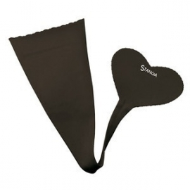 Stanga Strapless Panty Heart Black