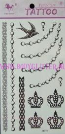 Jewelry Tattoos HM372