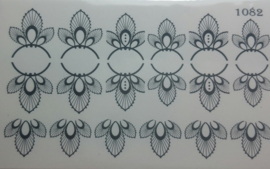 Water Decal Nail Wrap Elite Style 1082