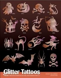 Spooky Halloween Sjablonenset met A4 poster