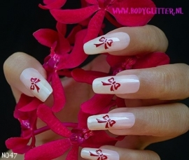 SmART Nails N047 - Bow