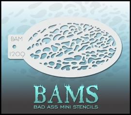 Bad Ass Stencil 1209