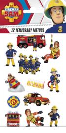 Fireman Sam Tattoos