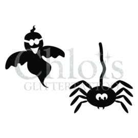 Ghost & Spider (Duo stencil)
