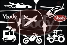 A5 Transport Themastencil