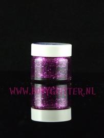 Glittergel pot 15 ml Paars