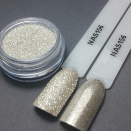 Nailart Decor Sand White Gold 156