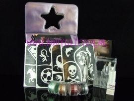 Glitter tattoo set Kids Jongen