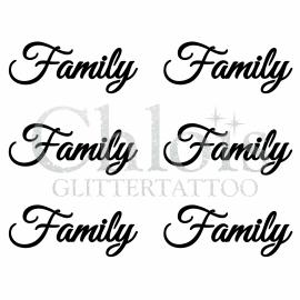Family (Multi Stencil 6)