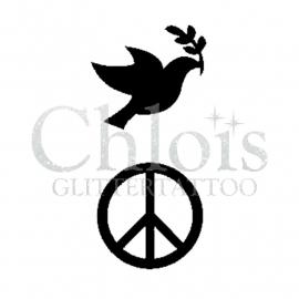 Bird Peace (Duo Stencil)