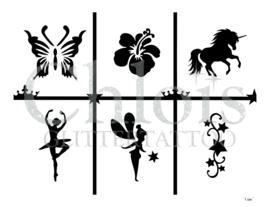 Girlish (Theme Stencil)
