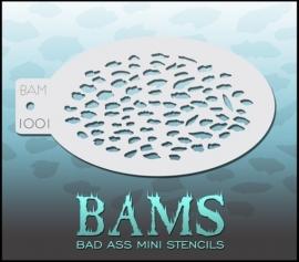 Bad Ass Stencil 1001