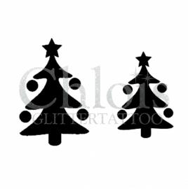 Christmas Tree (Duo Stencil)