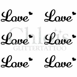 Love (Multi Stencil 6)