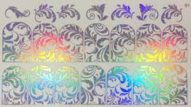 Foil Wrap Holografisch Zilver 51