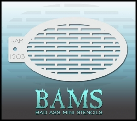 Bad Ass Stencil 1203