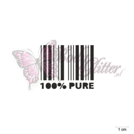100% Pure Barcode