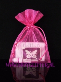 Minisetje Pink Rose Butterfly Small Open