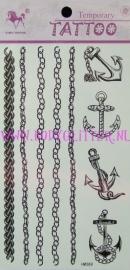 Sieraden Tattoos HM369