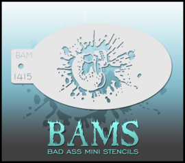 Bad Ass Stencil 1415