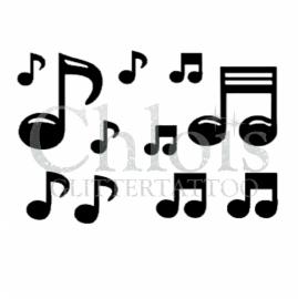 Music Notes (Multi stencil)