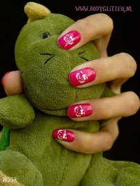 SmART Nails N058 - Kitty Cat