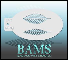 Bad Ass Stencil 1409