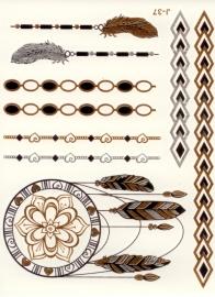 Metallic Tattoo 11.4