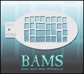 Bad Ass Stencil 1030
