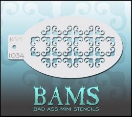 Bad Ass Stencil 1034