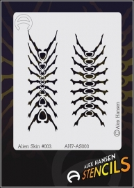 Alex Hansen Small Stencil Alien Skin #003 (AH7-AS003)