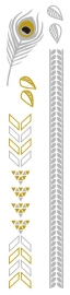 Flash Tattoo Metallic Lakota (85338)