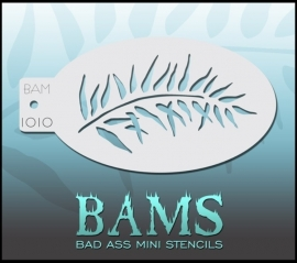 Bad Ass Stencil 1010