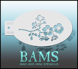 Bad Ass Stencil 1414