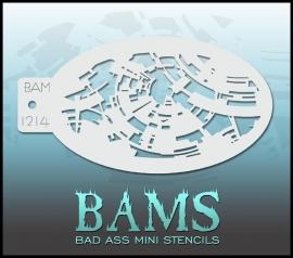 Bad Ass Stencil 1214