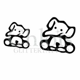 Cute Elefant (Duo stencil)
