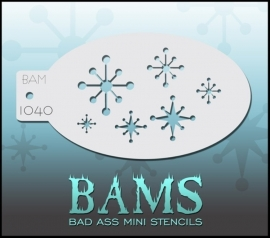 Bad Ass Stencil 1040