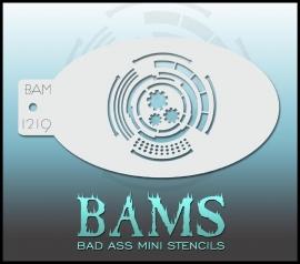 Bad Ass Stencil 1219