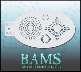 Bad Ass Stencil 1021